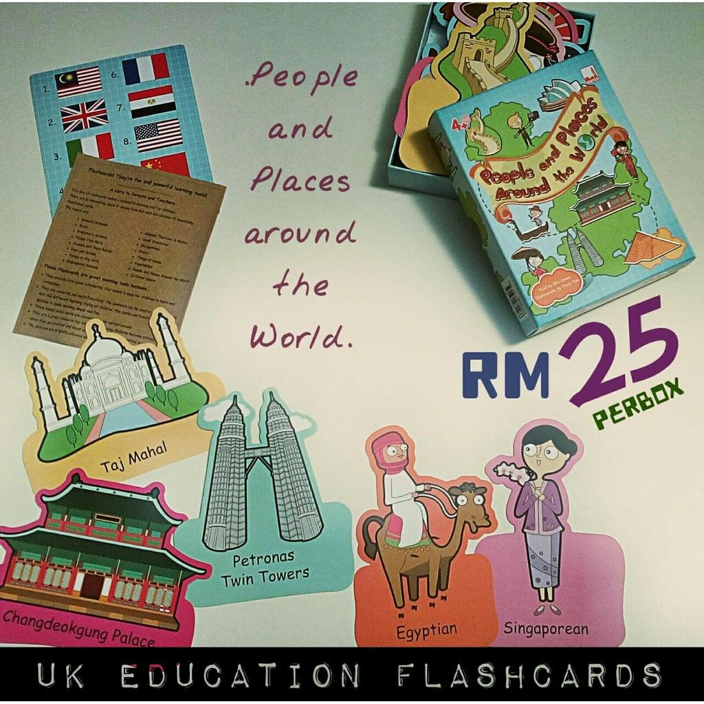 Uk Education Flashcard Shopee Malaysia Giant Animals