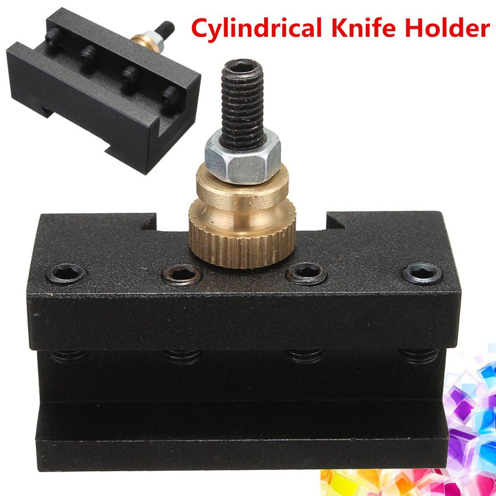 "Mini Lathe Quick Change Post 1//4/""-1//2/""Turning Face Milling Cut Tool Holder"