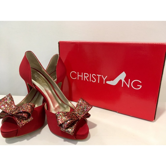 a50db6faa08 (NEW) Christy Ng - Red Riding Hood heels