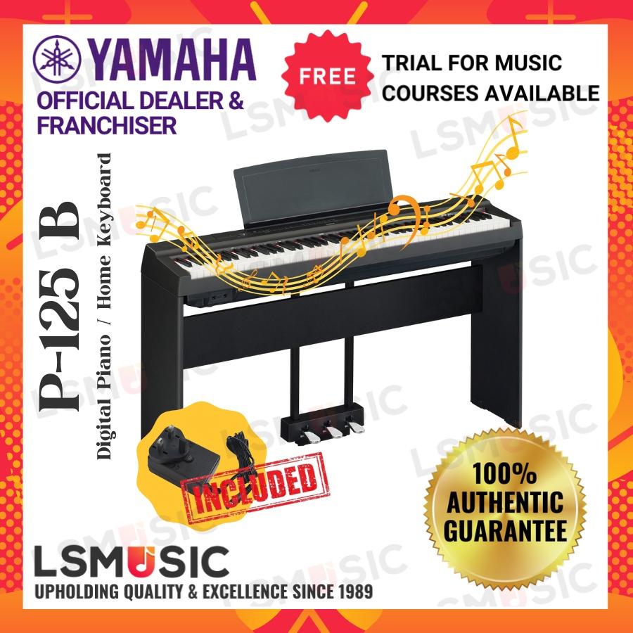 Yamaha P125 Digital Piano 88 Keys Yamaha Digital Piano (P-125 / P125)