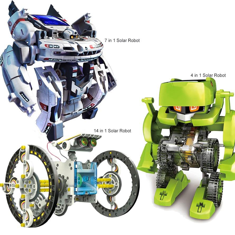 Educational Solar Power Diy Robot Kit