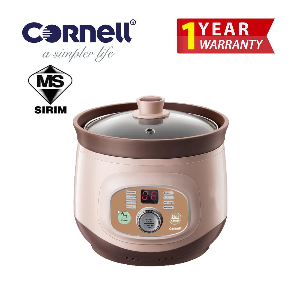 Cornell Clay Digital Slow Cooker - Purple (2L) CSC-E20PC
