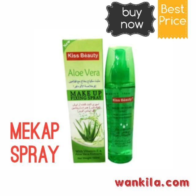 Kiss Beauty Make up Spray Aloe Vera