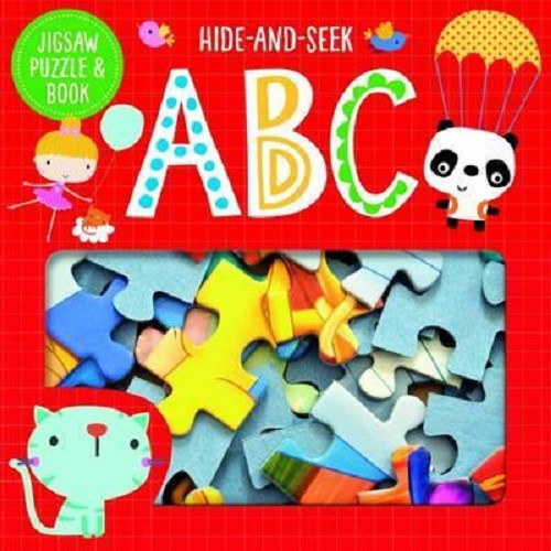 Jigsaw And Book: Hide And Seek Abc ISBN: 9781785989810