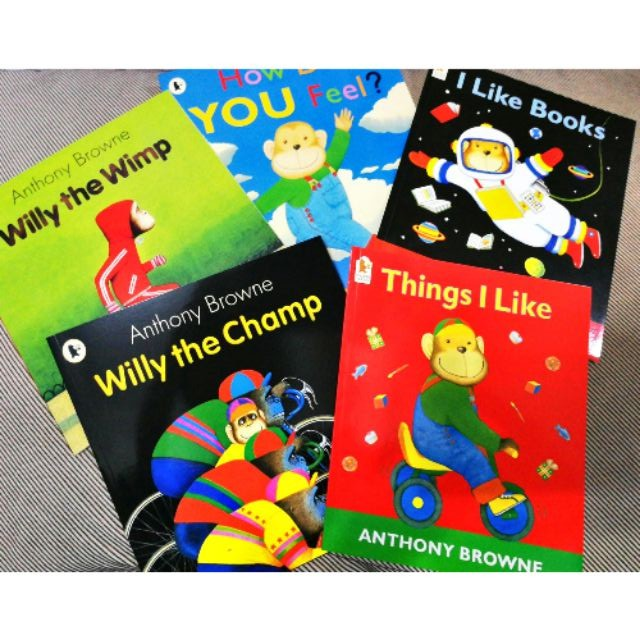 Young Children Story books Willy the Champ(set of 12+1CD)