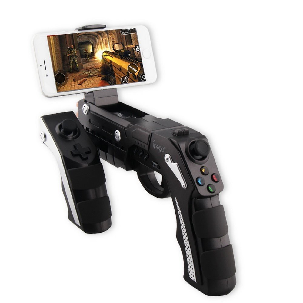 iPega PG9057 9057 Phantom ShoX Blaster Bluetooth Gun GamePad Vibrate