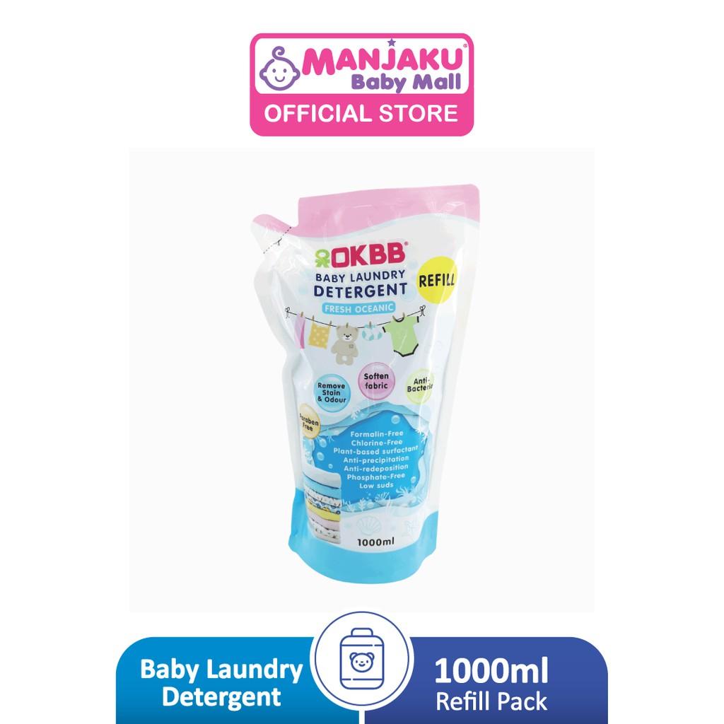 OKBB Baby Laundry Detergent Refill Pack (1000ml)