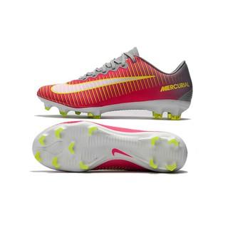 online retailer 6b0f6 21ac2 Nike Mercurial Vapor XI FG grey red mens low sport soccer football shoes  39-45