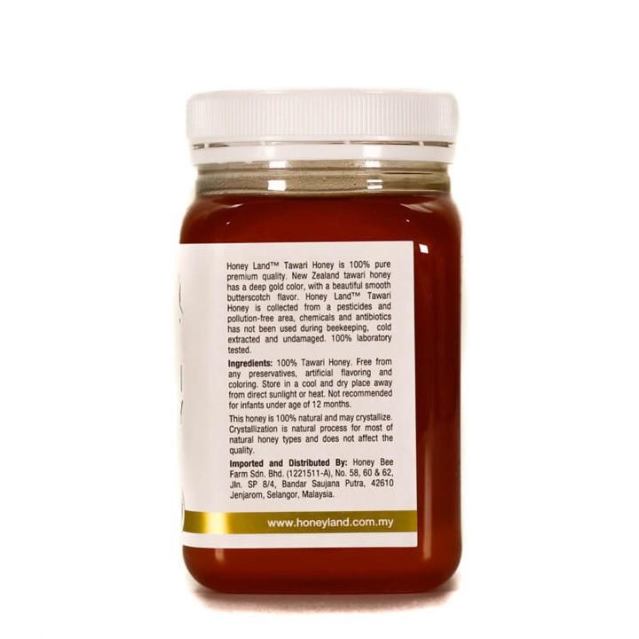 Honey Land™ – Tawari Honey (500g) 100% Madu Lebah Asli