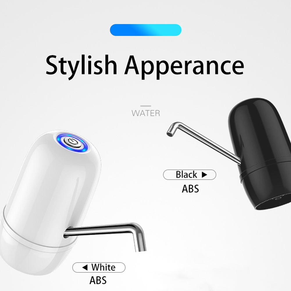 Electric Automatic Double Motor USB Charging Drinking Home Portable Dispenser Water Bottle Pump