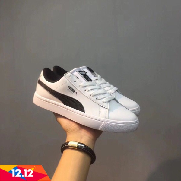 ad6e4782f8a445 2018 Original arrival PUMA TURIN X BTS white shoes Korea Exclusive Sneakers