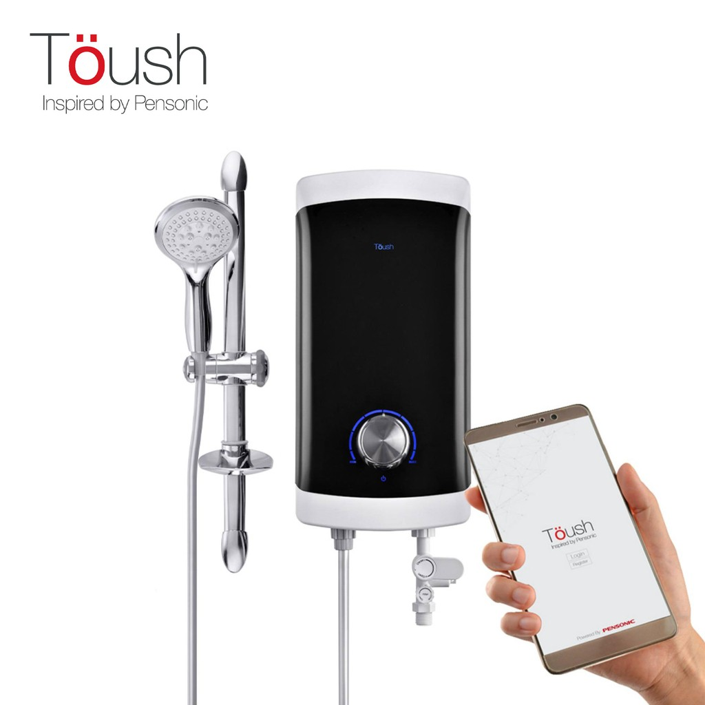 TOUSH Smart Water Heater C/W Smartphone App, Monitors Water Quality, etc | T1100SWH-E
