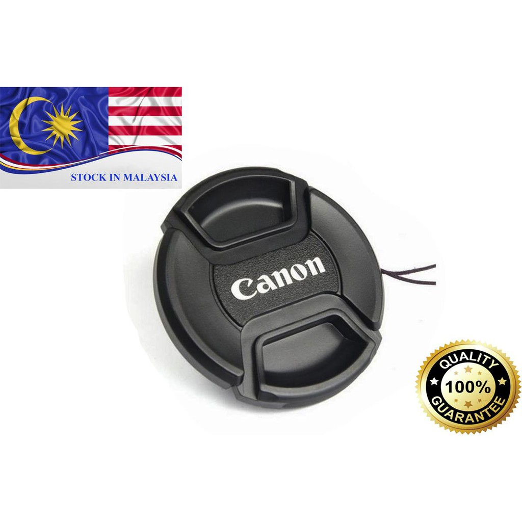 Canon Camera Lens Cap 49mm to 82mm (Ready Stock In Malaysia)