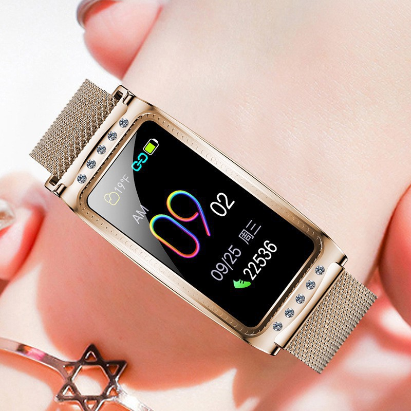 F28 Fitness Female Physiological Cycle Reminder Sleep Monitoring Smart Bracelet