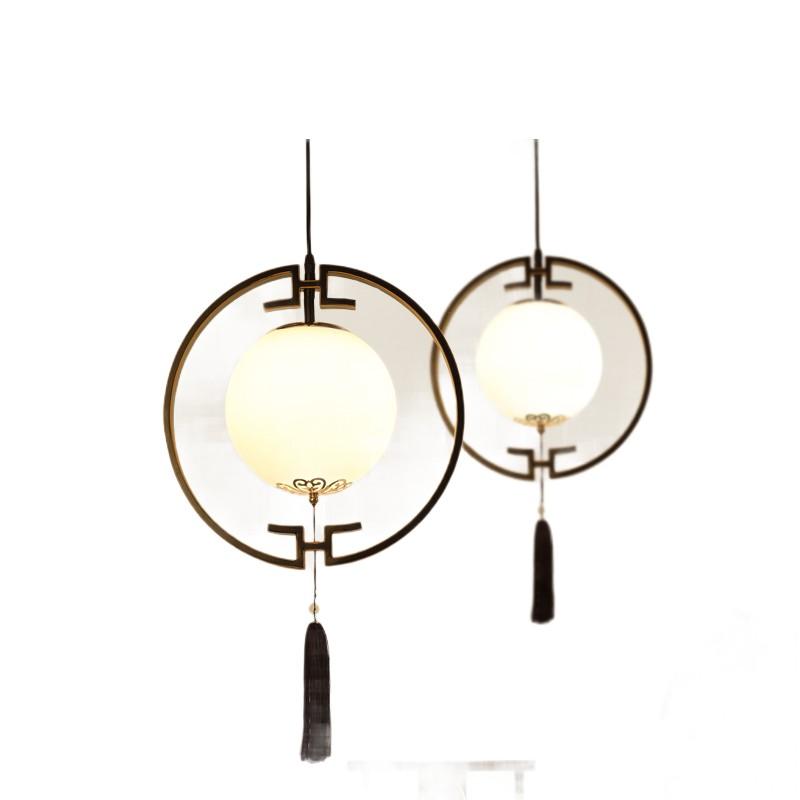 Zen Tea Droplight Door Porch Light, Chinese Style Lamps