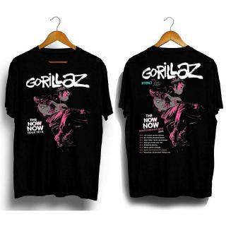 New Hot Gorillaz-Tourne-the-Now-Now-Tour Black Tshirt #Anw
