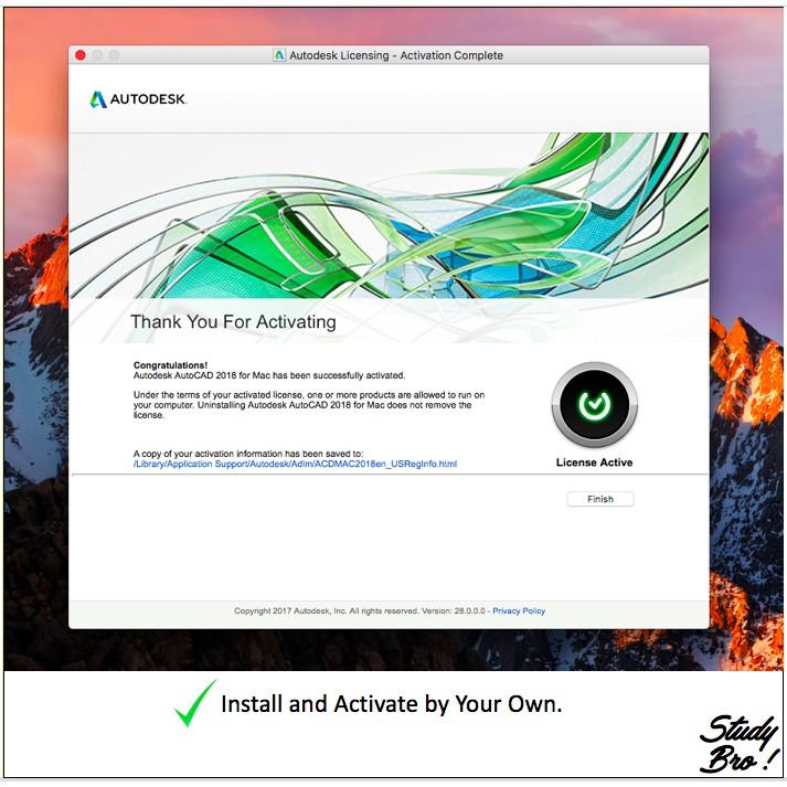 Genuine]Autodesk AutoCAD 2020/ 2019 3 Years License [Window