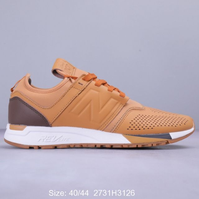 NEW BALANCE NB274 RUNNING SHOES MEN (BROWN) PREMIUM - 40-44 EURO