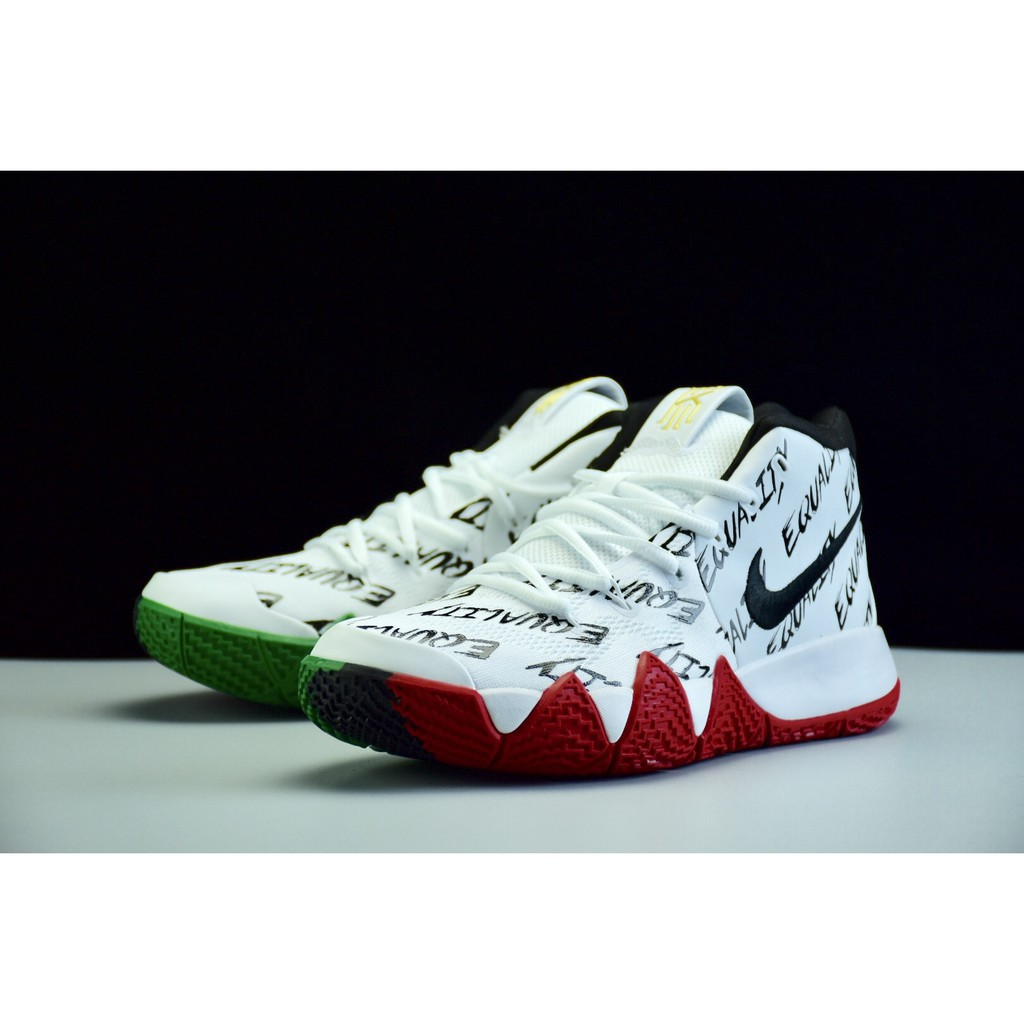 info for 86192 d5401 Nike Kyrie 4 BHM Men's high-top breathable basketball shoes size 40-46