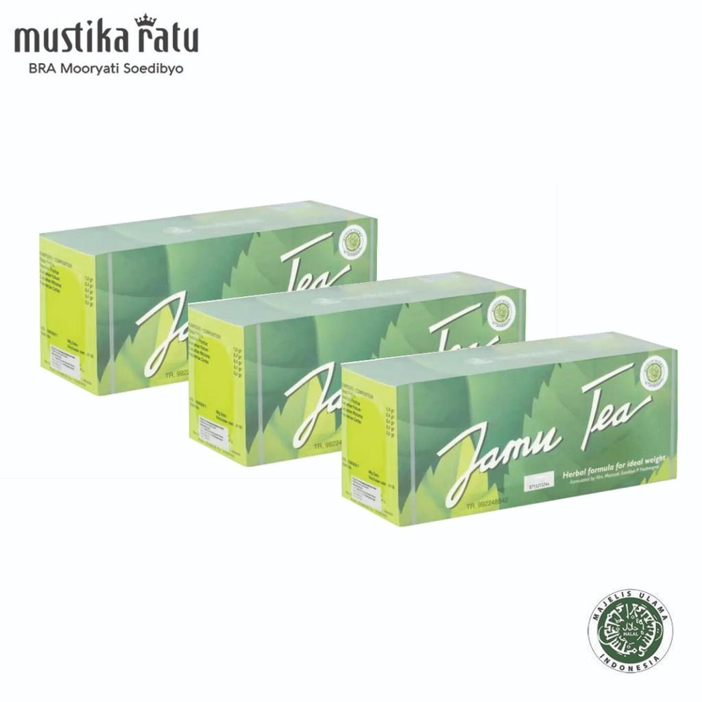 Mustika Ratu Jamu Tea for slimming (3 x 30's tea bag)