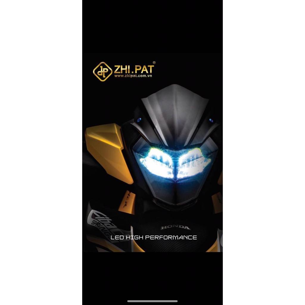 【ALL NEW】2020 ORIGINAL ZHI PAT HONDA RS150 HANDLE COVER HEAD LAMP LIGHT LED SMOKE PNP