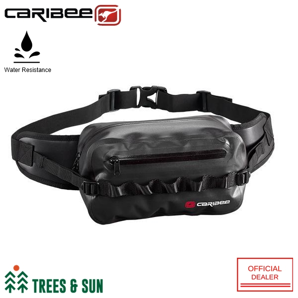 dc60d8f8d010 Caribee Squall Waist Bag Water Resistant Waist Pouch [Australia Imported]