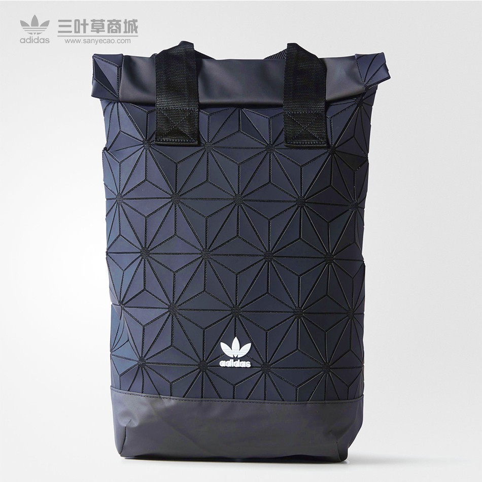 c2821f138e9  READY STOCK  Adidas x Issey Miyake 3D Urban Mesh Roll Up Black Backpack Bag    Shopee Malaysia