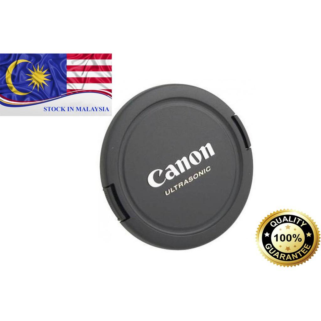 Canon Ultrasonic E-58 58mm Lens Cap (Black) (Ready Stock In Malaysia)