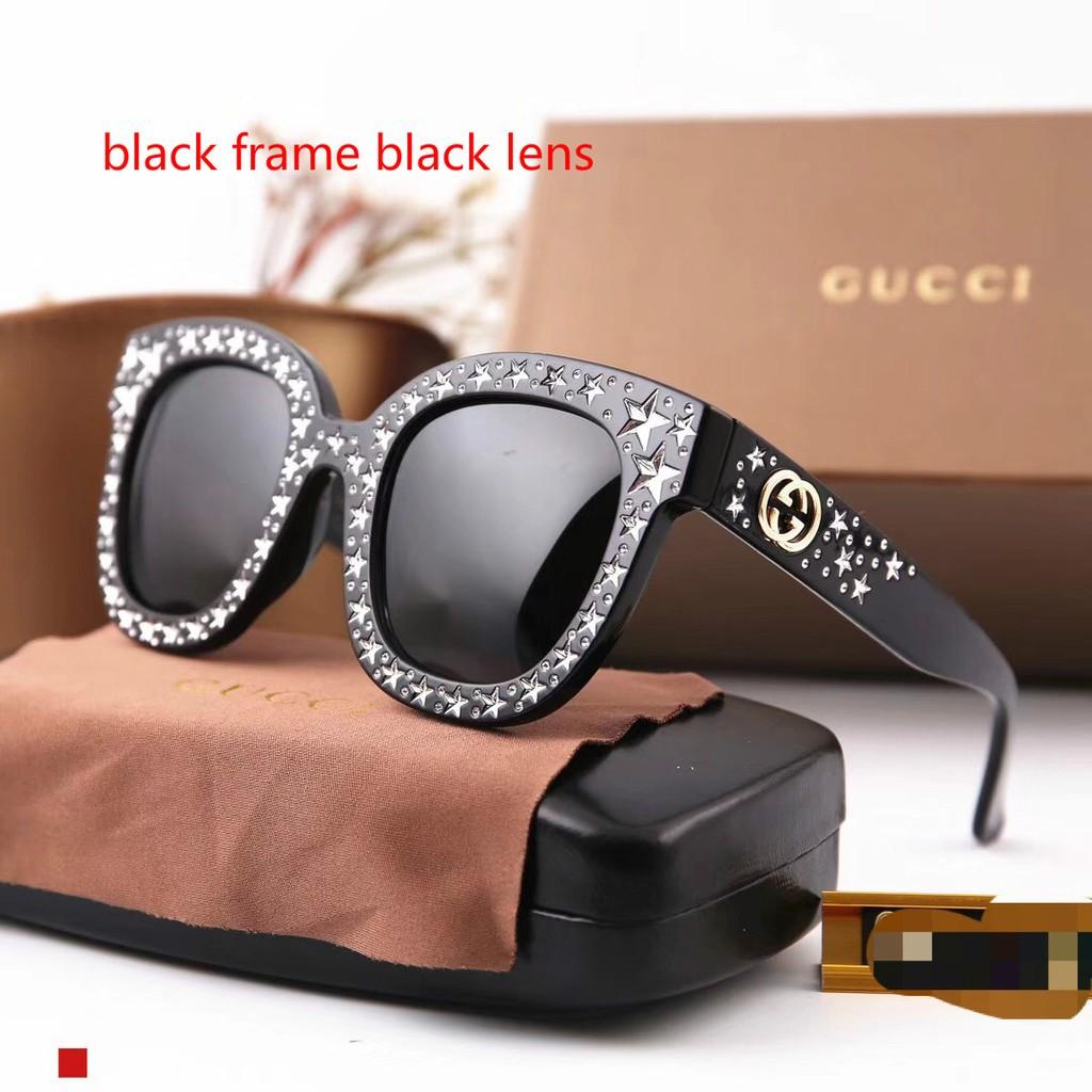 36a32938d Gucci 0116 Sunglasses Star Pattern Polarized UV400 Sexy Fashion Women  Sunglasses | Shopee Malaysia