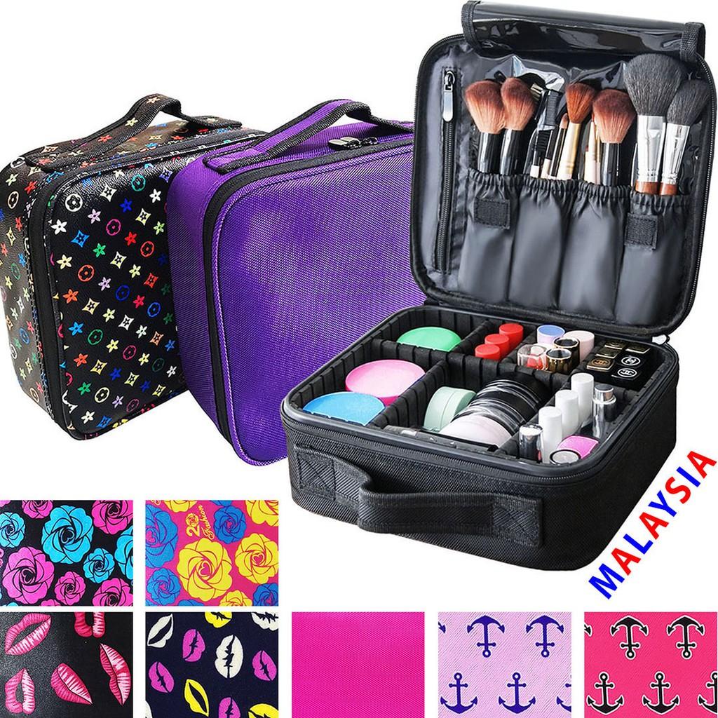 cac60d8264b0 Ready Stock 🇲🇾 Beg Makeup Kecil Cosmetic Make Up Brushes Storage Bag Small