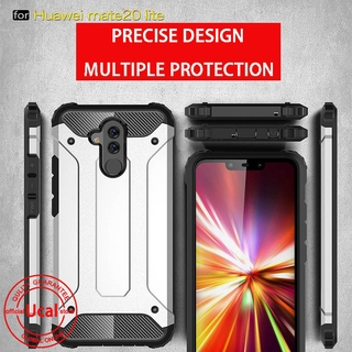 san francisco 93813 f85f2 Huawei Mate 20 lite Case Rugged Hybrid Armor Hard Cover Casing for Mate 20  lite