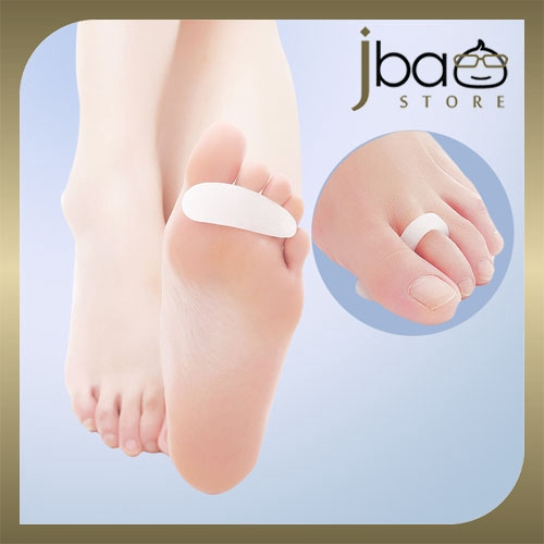 Silicone Gel Hammer Toe Crest Loop Buttress Cushion Pad Foot Care (1 Pair)