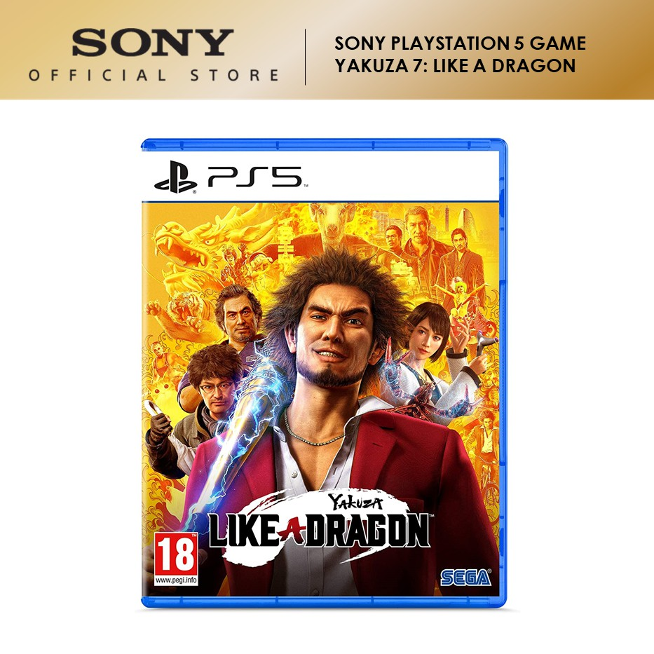 SONY PLAYSTATION 5 PS5 GAME YAKUZA 7: LIKE A DRAGON