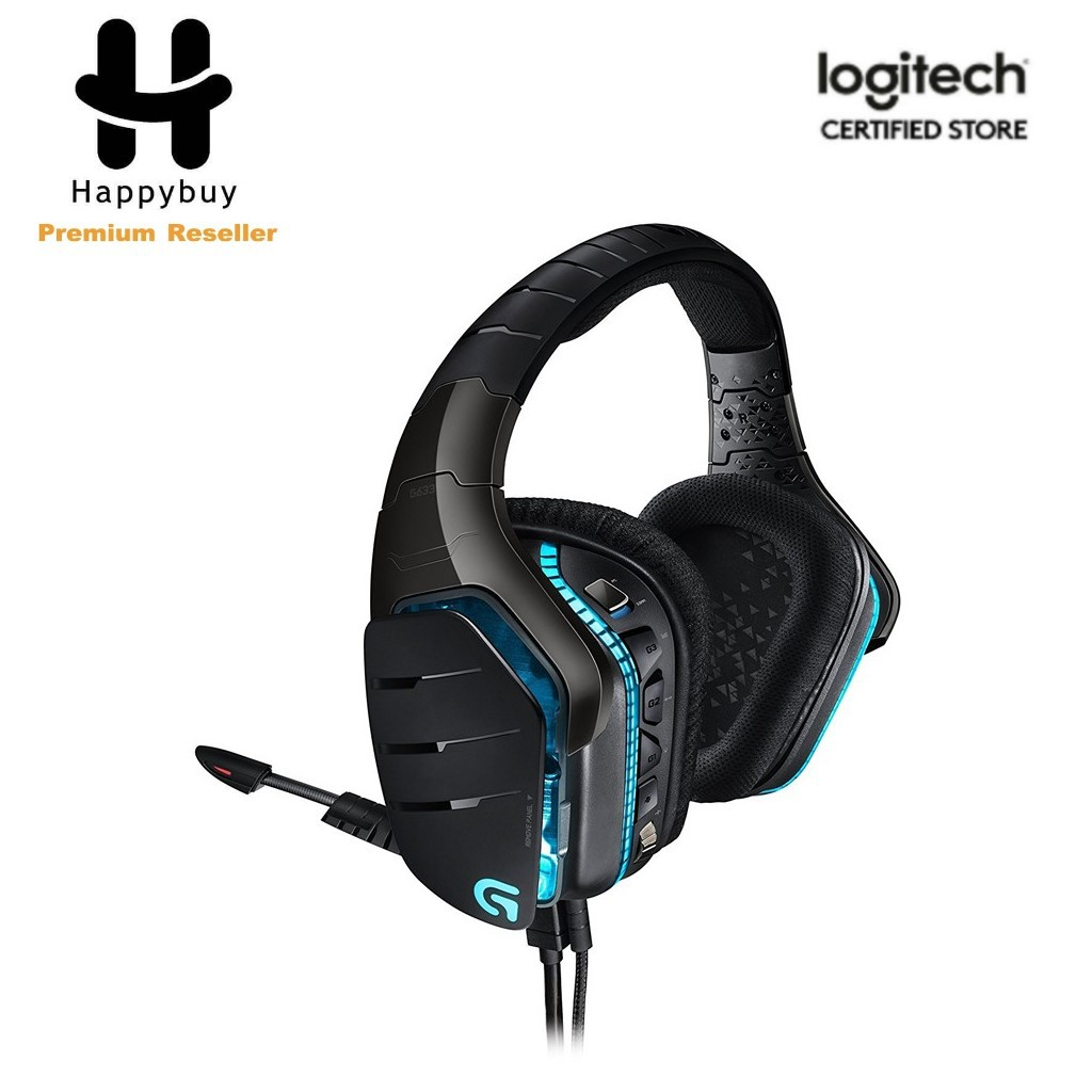 Logitech G633 Artemis Spectrum Rgb 7 1 Surround Gaming Headset Shopee Malaysia