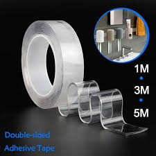 PU Gel Nano Tape Pad Monkey Grip 5 Multi-Functional Magic Clear