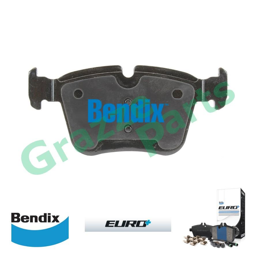 Bendix Euro Plus Disc Brake Pad Rear for DB2404 - Mercedes Benz C200 W205 2014