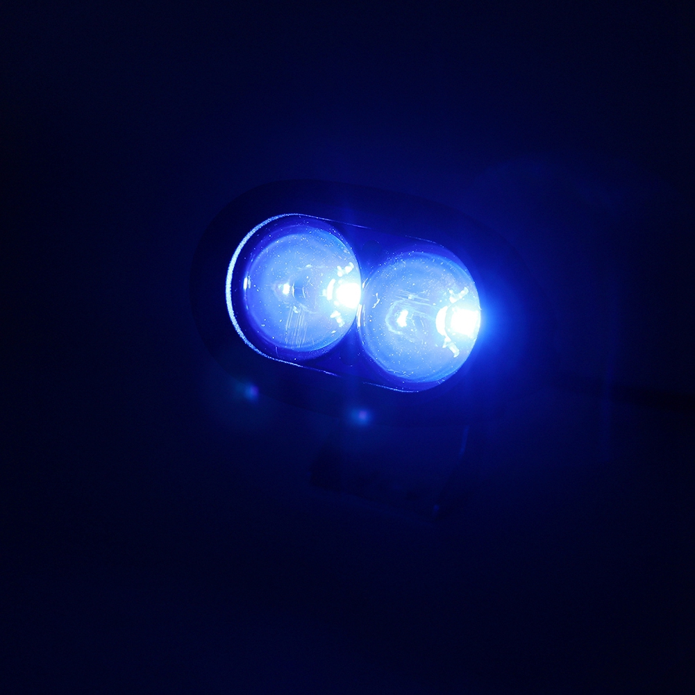 KIMISS 4inch 27W LED Work Light Round LED Spotlight Fog Light DC10-30V Driving Lamp for Motorcycle Car Truck ATV SUV
