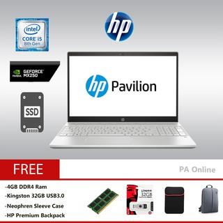 HP Pavilion 15-cs2010TX (8GB Ram)-Intel Core i5-8265U/8GB