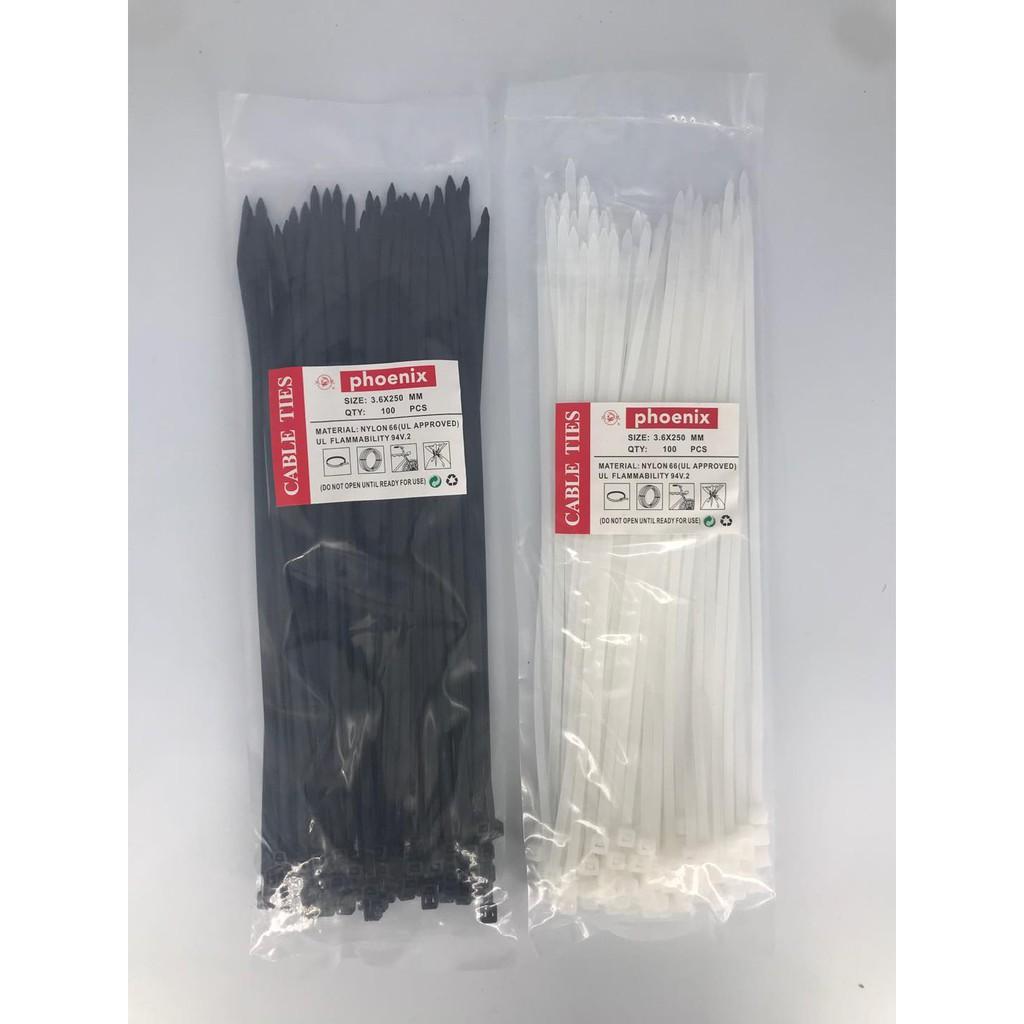 Tis Cable / Cable Ties / Cabel Tie Nylon (nylon 66) Contents 100pcs