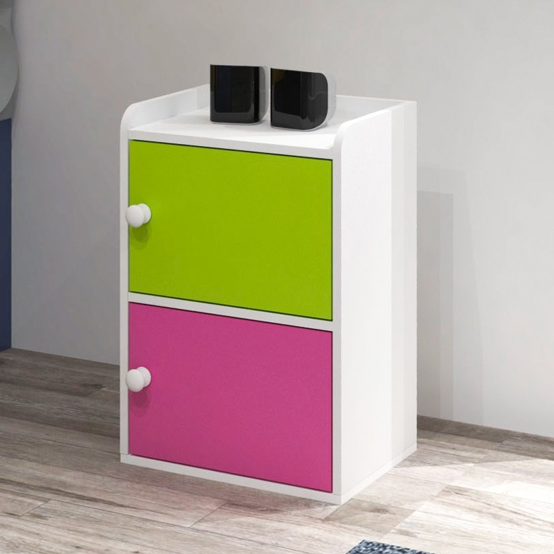 Furniture Direct J202 2 door storage cabinet/ book shelf/ bookcase/ storage cabinet