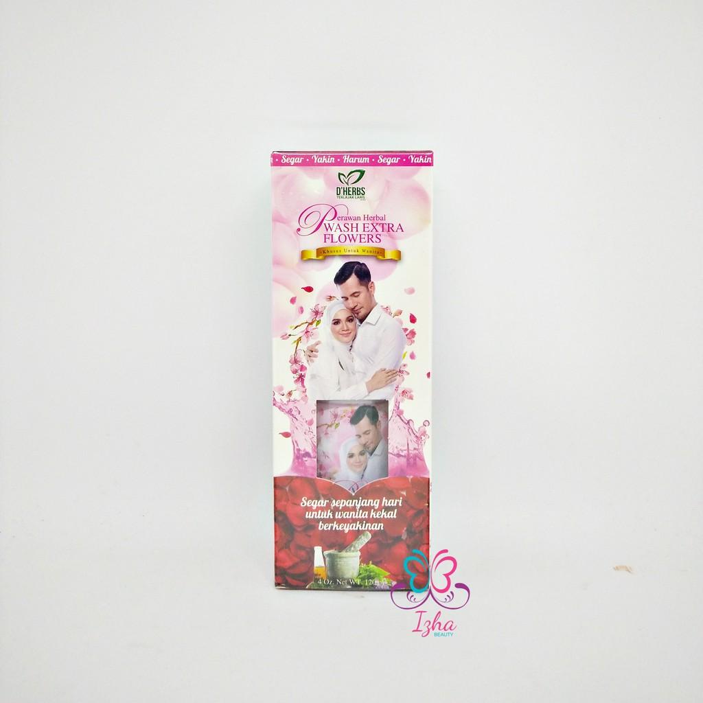[D\'HERBS] Perawan Herbal Wash (Extra Flowers) - 120ml