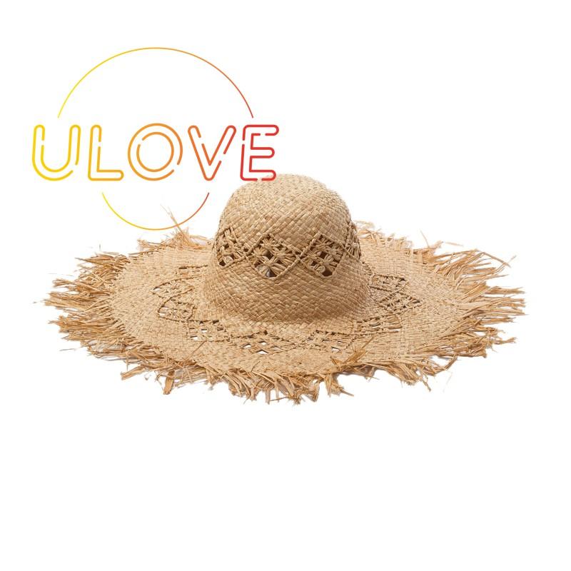 2d5d23401 Fashion Wide Brim Straw Hats For Women Hollow Out Beach Sun Hats