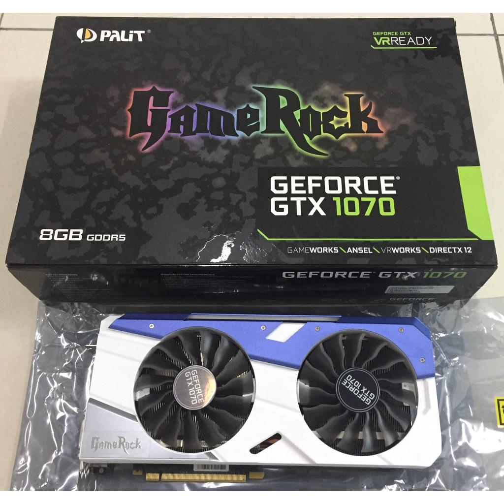 Palit GTX 1070 Gamerock 8G (USED)
