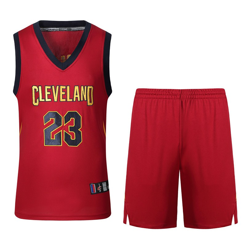 NIKE NBA Cleveland Cavaliers LeBron James 23 basketball jerseys S-XXL RED  ea780e370