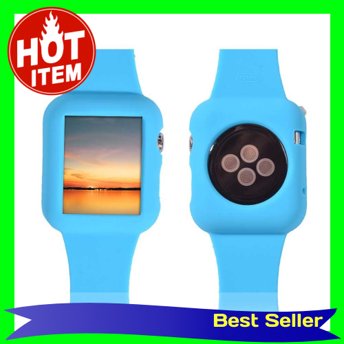 Fashion Design Silicon Watchband for Apple iWatch 42mm Eco-friendly Material Ultrathin Lightweight Fashionable Portable
