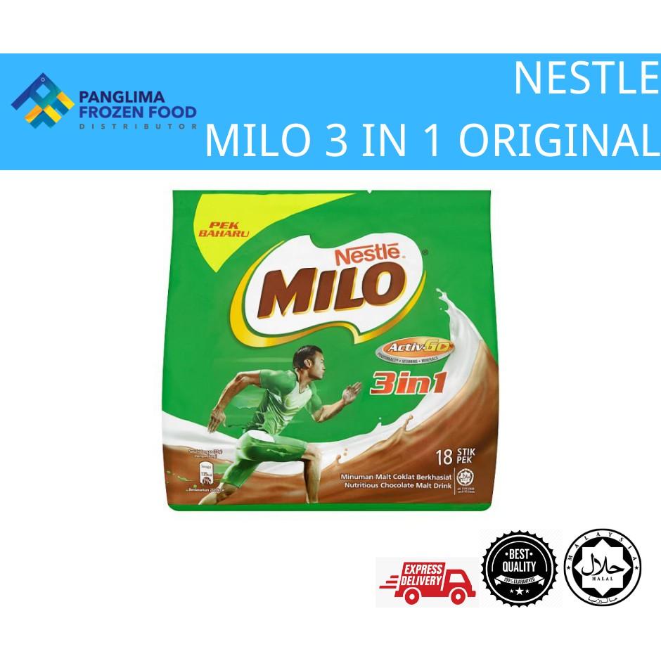 MILO 3 IN 1 ORINGINAL (18 STICK)