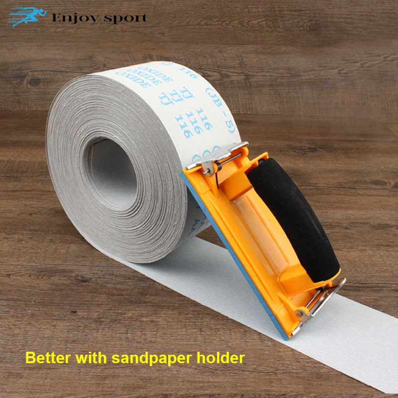 Henreal Silicon Carbide Sanding Roll Sanding Paper Wood Snading Polished Wall 120 grit