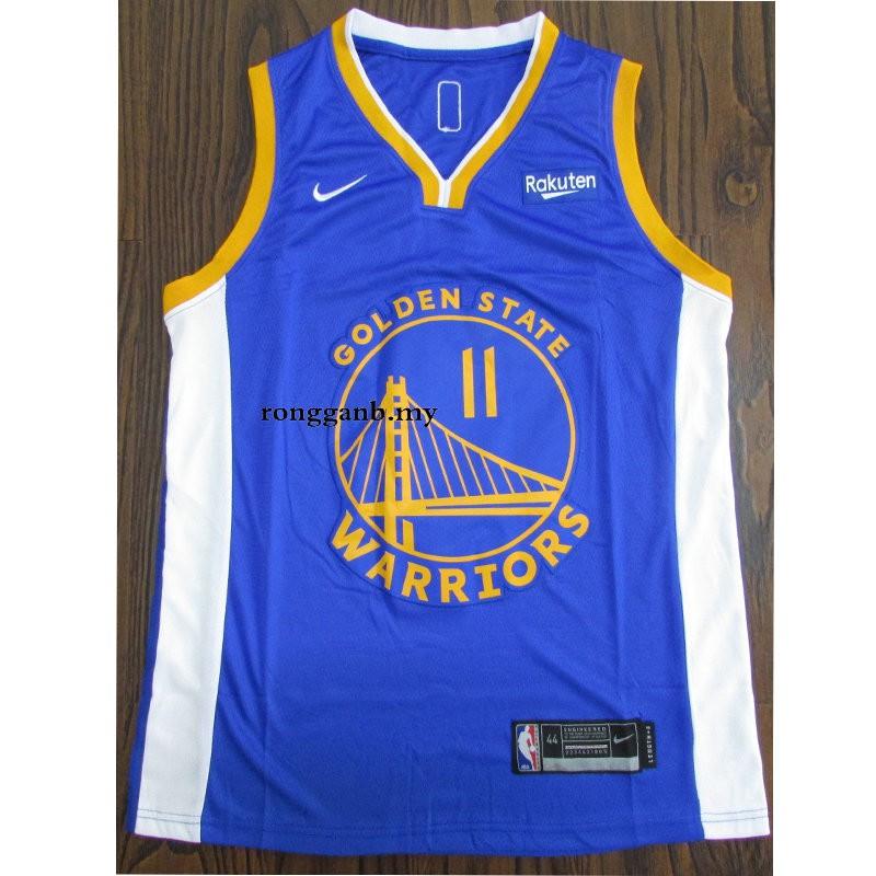New Blue Golden State Warriors #11 Klay Thompson Basketball Jerseys