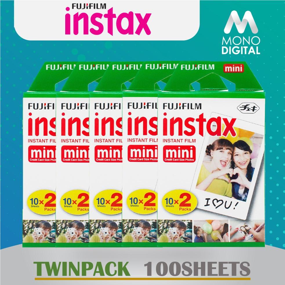 Fujifilm Instax Mini Instant Film TwinPack Twin Pack for Instax Mini  8/9/7s/SP2/70
