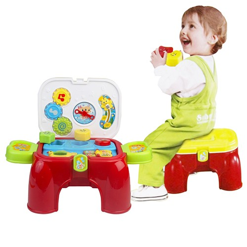 2 in 1 Lovely Baby Carry  Activity Play Set With Sound